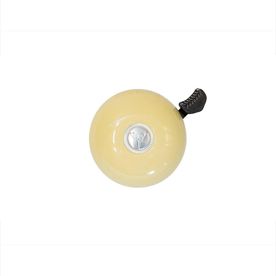 """<h3>Firmstrong Classic Beach Cruiser Bell<br></h3> <br>This sunny lemon yellow is one of <em>nine</em> fruity colors that Firmstrong offers for its classically styled bell. <br><br>Simply designed and easy to mount, it's a sweet and stylish choice for your ride — and at less than $17, you can nab one for your roommate, too.<br><br><strong>Firmstrong</strong> Classic Beach Cruiser Bicycle Bell, $, available at <a href=""""https://www.amazon.com/Firmstrong-Classic-Cruiser-Bicycle-Vanilla/dp/B01MRCKMEU/ref=pd_sbs_468_5/131-7231430-6602358"""" rel=""""nofollow noopener"""" target=""""_blank"""" data-ylk=""""slk:Amazon"""" class=""""link rapid-noclick-resp"""">Amazon</a><br><br><br>"""