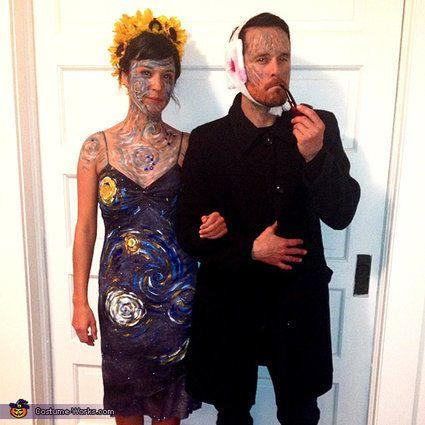 """Vía <a href=""""http://www.costume-works.com/van_gogh_and_his_masterpiece.html"""" target=""""_blank"""">Costume-Works.com</a>"""
