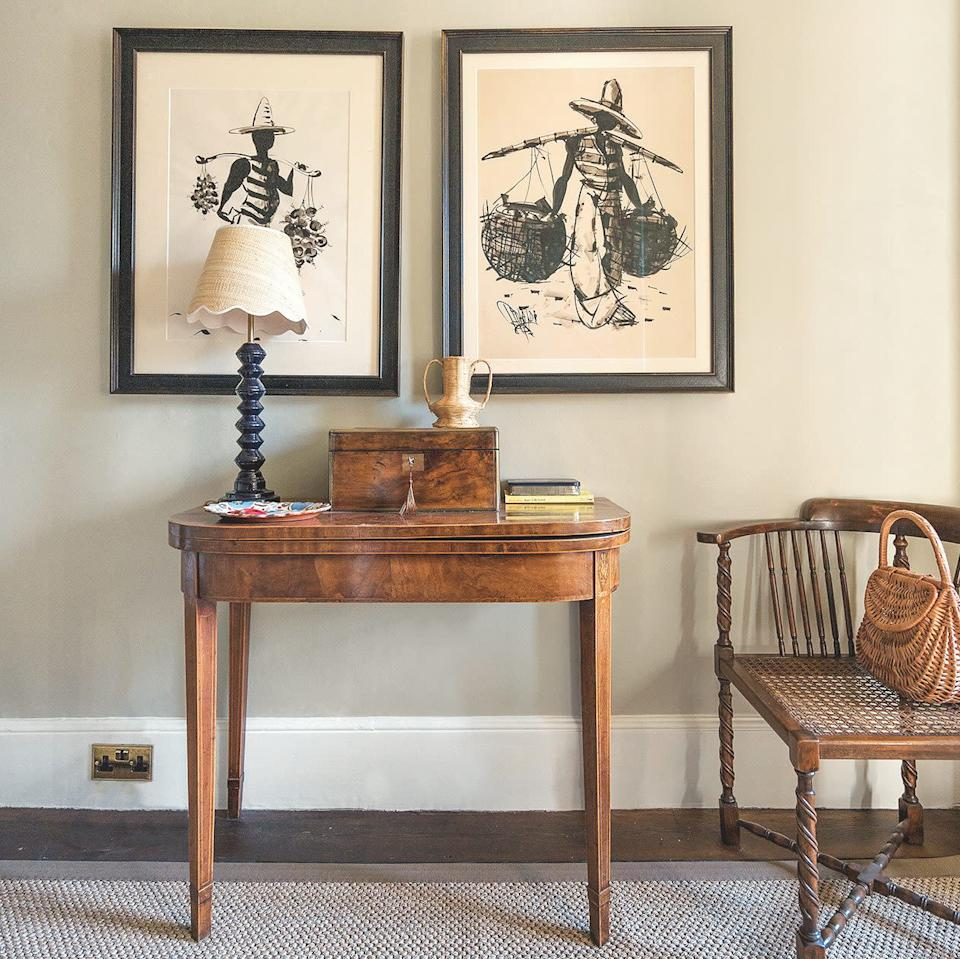 Louise's love of 'brown furniture' is evident throughout - Mackenzie Hunkin