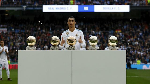 Napoli coach Carlo Ancelotti has first-hand experience of Cristiano Ronaldo's quality and he backed the Juventus star for the Ballon d'Or.