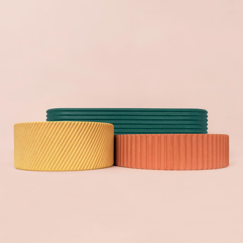"""This month, U.K.-based Kast Concrete Basins launched new textured versions of its Kast Canvas sinks, which come in 28 colors. (""""Otto"""" is circular with diagonal ribbing; """"Luna"""" is shaped like a half moon with vertical ridges; """"Iva"""" is more of a trough, with the lines going horizontally.) Order online for U.S. delivery, or visit a <a rel=""""nofollow"""" href=""""https://kastconcretebasins.com/showrooms"""" rel=""""nofollow"""">showroom near you</a>.<br> <a rel=""""nofollow"""" href=""""https://kastconcretebasins.com/products/otto"""" rel=""""nofollow"""">SHOP NOW</a>: Otto Sink by Kate Concrete Basins, from $2,535, kastconcretebasins.com<br> <a rel=""""nofollow"""" href=""""https://kastconcretebasins.com/products/luna"""" rel=""""nofollow"""">SHOP NOW</a>: Luna Sink by Kate Concrete Basins, from $2,590, kastconcretebasins.com<br> <a rel=""""nofollow"""" href=""""https://kastconcretebasins.com/products/iva"""" rel=""""nofollow"""">SHOP NOW</a>: Iva Sink by Kate Concrete Basins, from $3,110, kastconcretebasins.com"""
