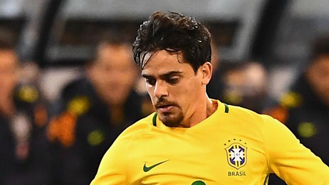 A hip injury suffered by the Man City defender means the Corinthians man will earn his fifth Selecao cap against the Ticos