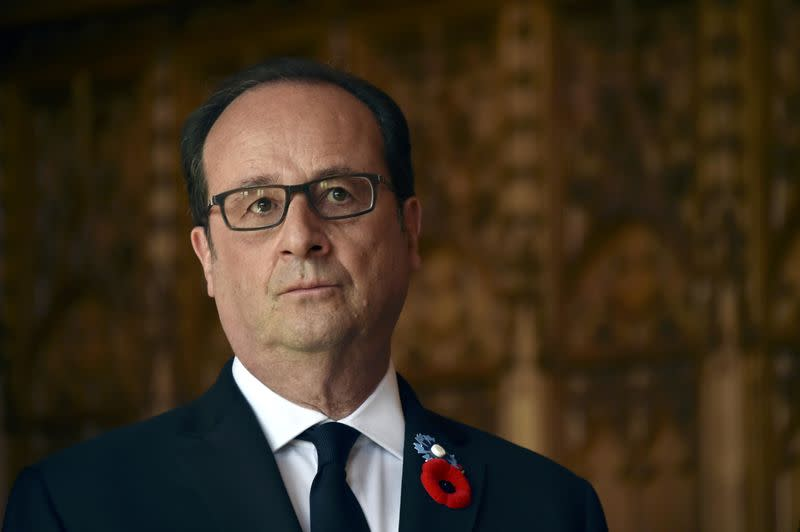 AU CHEMIN DES DAMES, HOLLANDE APPELLE À PRÉSERVER L'EUROPE