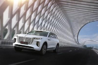 Hongqi to launch E-HS9 at Boao event after 6,170-km journey