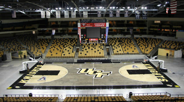 Ucf Unveils New Blacktop Floor Meant To Emulate An Outdoor