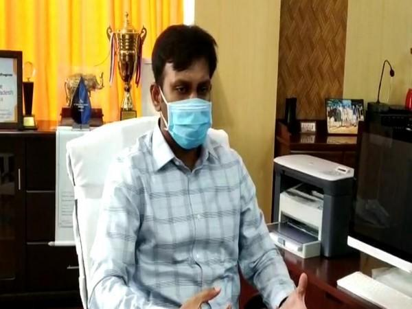 Kadapa district collector HariKiran. (Photo/ANI)