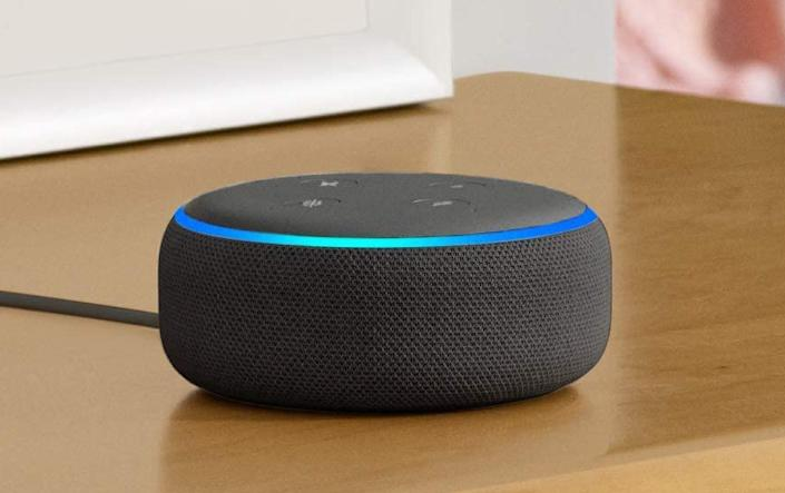 Get the Echo Dot (third generation) for 25 percent off. (Photo: Amazon)