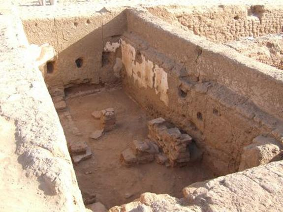 Drug References Found on Walls of Ancient Egyptian School