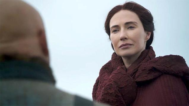 Carice van Houten as Melisandre and Conleth Hill as Varys in <em>Game of Thrones.</em>(Photo: HBO)