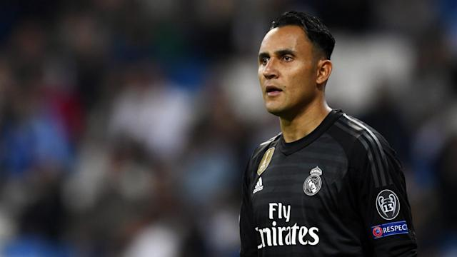 The Costa Rica international was back in the Blancos' starting XI for a La Liga fixture against Celta Vigo and claims to be happy at the Bernabeu
