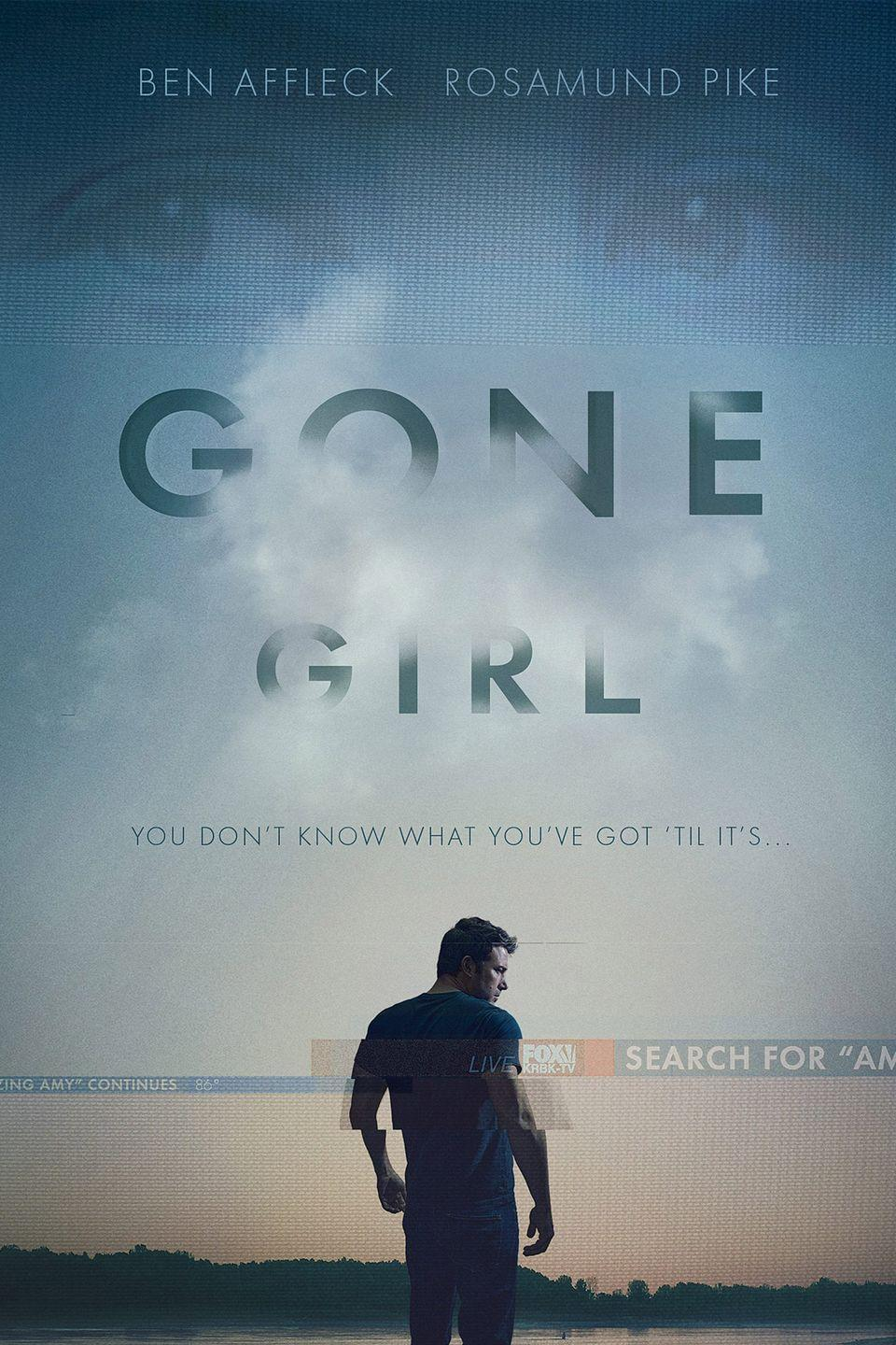 """<p>Anyone else walk into the movie theater to see <em>Gone Girl</em> and have no idea they'd leave the experience knowing what Ben Affleck <a href=""""https://www.redbookmag.com/love-sex/sex/g19700772/best-nude-movie-scenes/"""" rel=""""nofollow noopener"""" target=""""_blank"""" data-ylk=""""slk:looked like naked"""" class=""""link rapid-noclick-resp"""">looked like naked</a>? Same. But here we are. This full-frontal moment happened in a shower scene and is quite memorable.</p><p><a class=""""link rapid-noclick-resp"""" href=""""https://www.amazon.com/Gone-Girl-Ben-Affleck/dp/B00S65TBHY?tag=syn-yahoo-20&ascsubtag=%5Bartid%7C10063.g.22564723%5Bsrc%7Cyahoo-us"""" rel=""""nofollow noopener"""" target=""""_blank"""" data-ylk=""""slk:STREAM NOW"""">STREAM NOW</a></p>"""