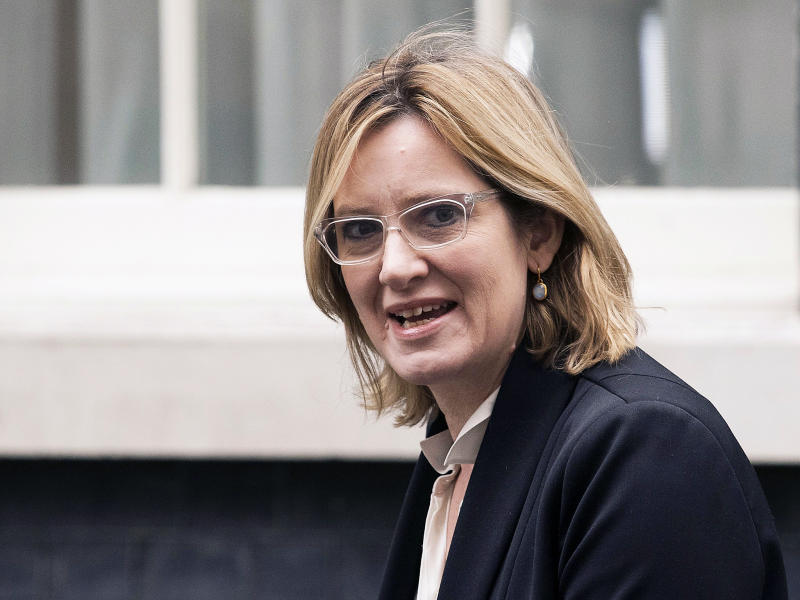 Home Secretary Amber Rudd: EPA