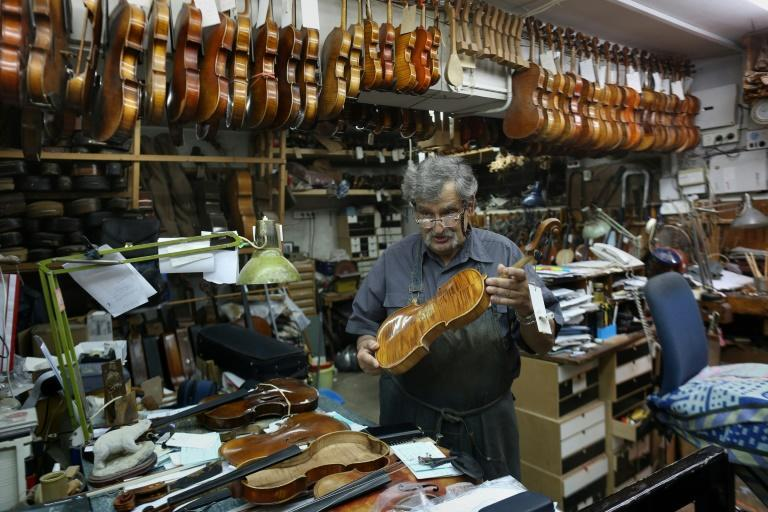 """Amnon Weinstein's mission is to find """"any violin that escaped the Holocaust, bring it in, repair it and end up with a violin capable of being played in a concert"""""""