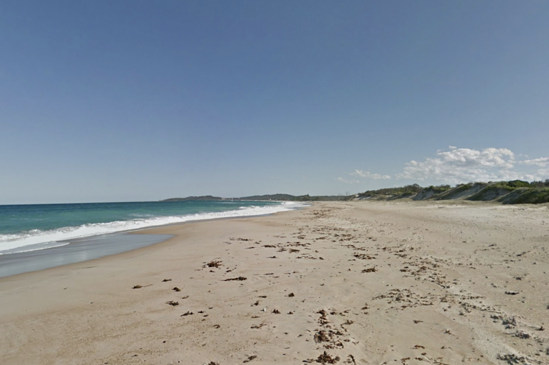 Wooli Beach, near where the boy was killed: Google Maps