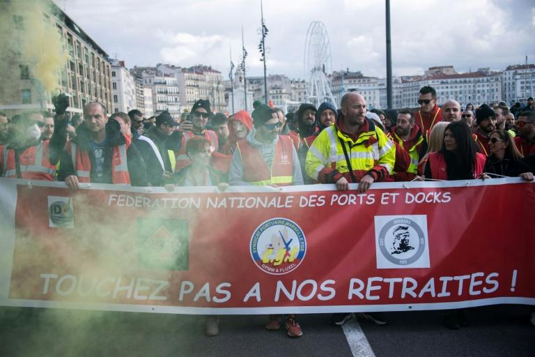 """""""It's never too late to make a government back down,"""" Philippe Martinez of the CGT union said"""