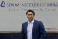 FILE PHOTO: Adar Poonawalla, Chief Executive Officer (CEO) of the Serum Institute of India poses for a picture at the Serum Institute of India, Pune