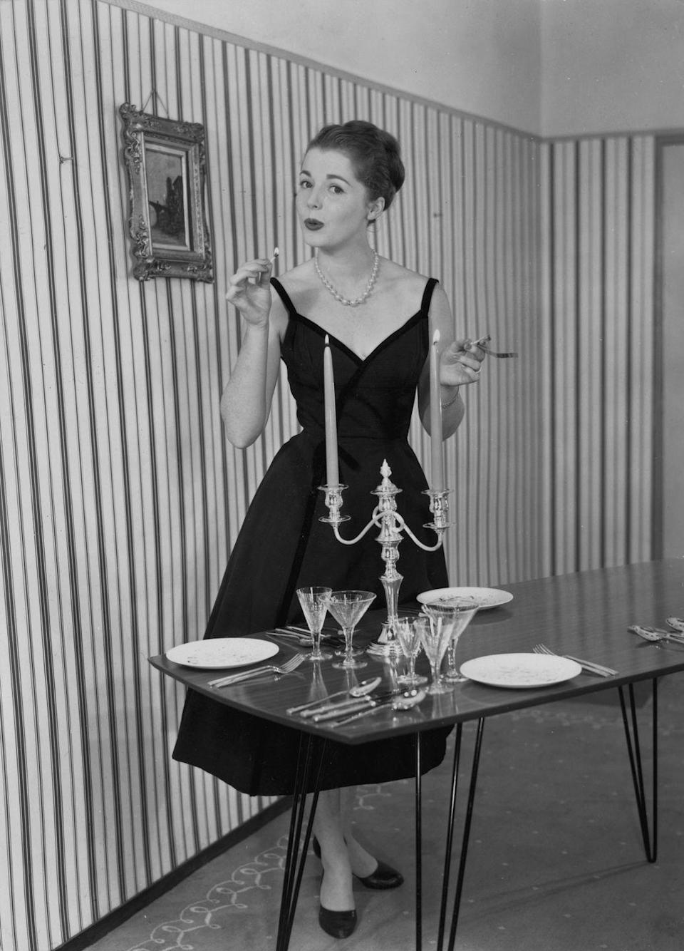 <p>Again, it wasn't just your good friends that you'd entertain at these parties, but people you wanted to impress. So hosts would often polish their silver and bring out the fine china when hosting.</p>