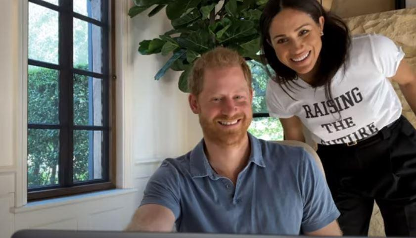 <p>The Duke and Duchess of Sussex</p> (Apple TV)