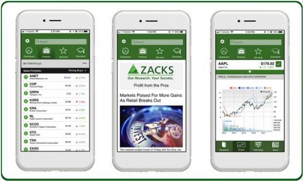 Zacks Launches New Stock Research and Portfolio Tracking App