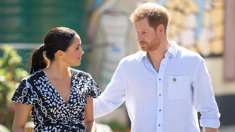 Harry accuses tabloid press of 'ruthless campaign' against Meghan