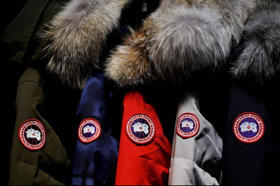 Canada Goose will cease using fur in its products (REUTERS)