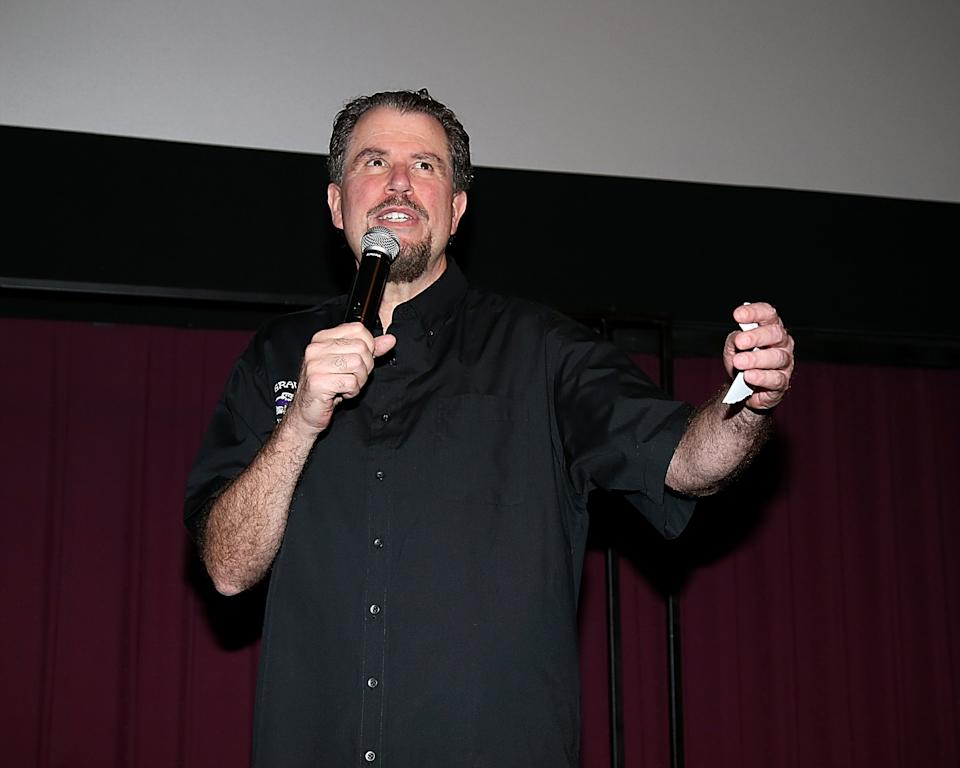 "Don Coscarelli attends a special screening of the restored ""Phantasm"" during Ain't It Cool News' 17th Annual Butt-Numb-A-Thon on December 13, 2015. (Photo by Gary Miller/Getty Images)"