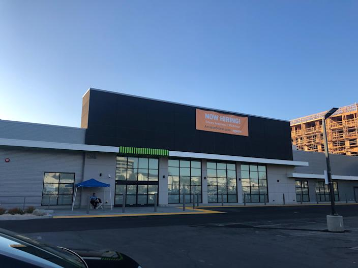 The brand new Amazon grocery concept will likely open in February 2020 (Photo: Melody Hahm)