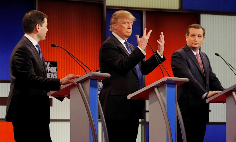 Trump's Many Cruz Insults Ahead Of Planned Dinner