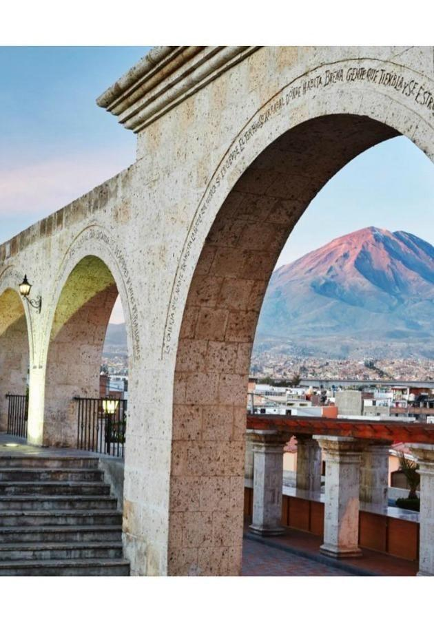 travel on the Andean Explorer through the city of Arequipa in Peru. Source: Instagram / @belmondandeanexplorer