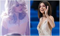 <p><b>When: June, 2017</b><br>Selena Gomez is known for her long, sultry dark locks, but the singer recently donned a blonde wig for her new music video Bad Liar. The blonde feathered locks are reminiscent of Farah Fawcett's iconic Charlie's Angels blown back waves! Gomez takes on four different roles in Bad Liar – a father, mother, daughter and a blonde gym teacher who both the father and daughter secretly has a crush on.<br>Storyline aside, are you hoping Selena goes blonde full time?<br>(Photo L: Interscope/Bad Liar via Twitter, R: Getty) </p>