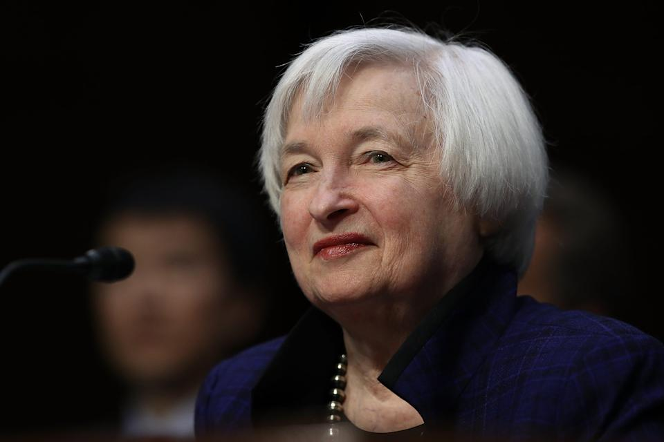 Janet Yellen, who chaired the Federal Reserve Board, was chosen to lead the Treasury Department in Joe Biden's presidential administration.