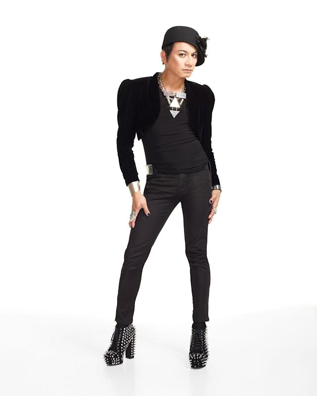 """Andre Soriano in """"Styled to Rock"""" Season 1."""