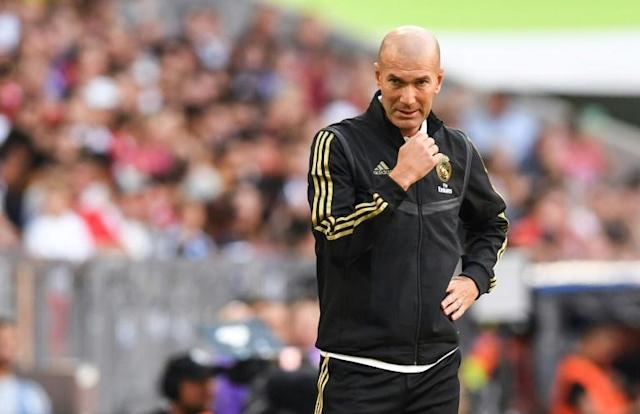 Real Madrid's coach Zinedine Zidane took over a team with nothing to play for and a squad he knew was in need of reform (AFP Photo/Christof STACHE)
