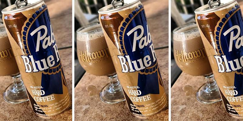 9aea3063c2 Pabst Blue Ribbon Just Released a Hard Coffee