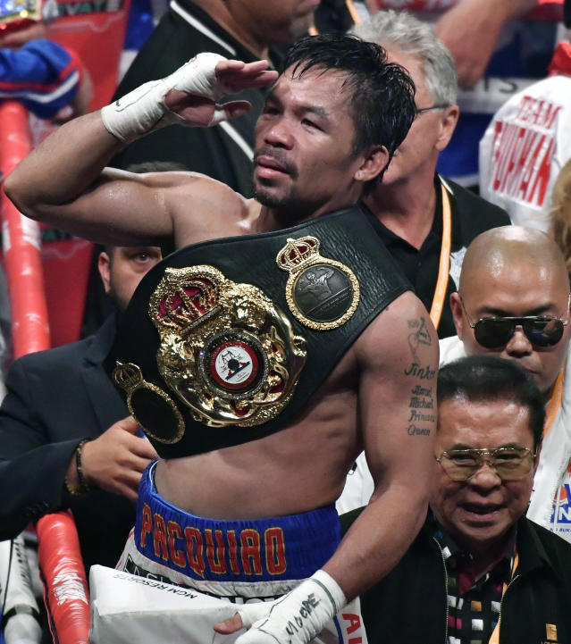Is Floyd Mayweather next for Manny Pacquiao?