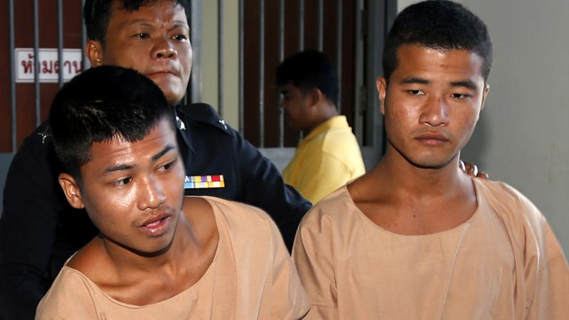 Wai Phyo and Zaw Lin have been sentenced to death. Source: AAP
