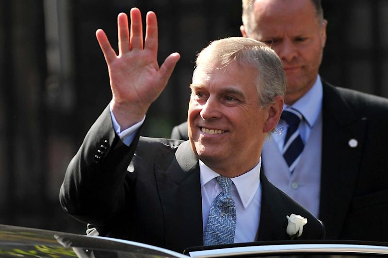 Prince Andrew, pictured here in 2011, has stepped away from public life (AFP via Getty Images)