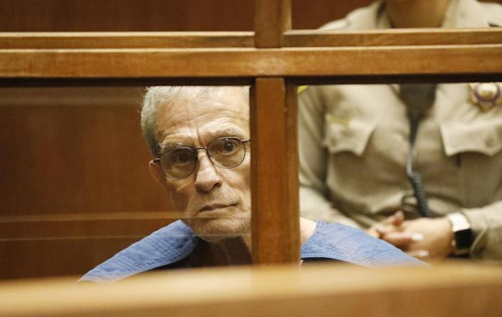 Ed Buck at his L.A. Superior Court arraignment in September 2019.