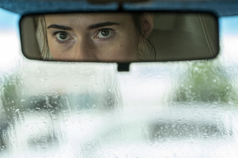 Caren Pistorious in a still from Unhinged.(Altitude)