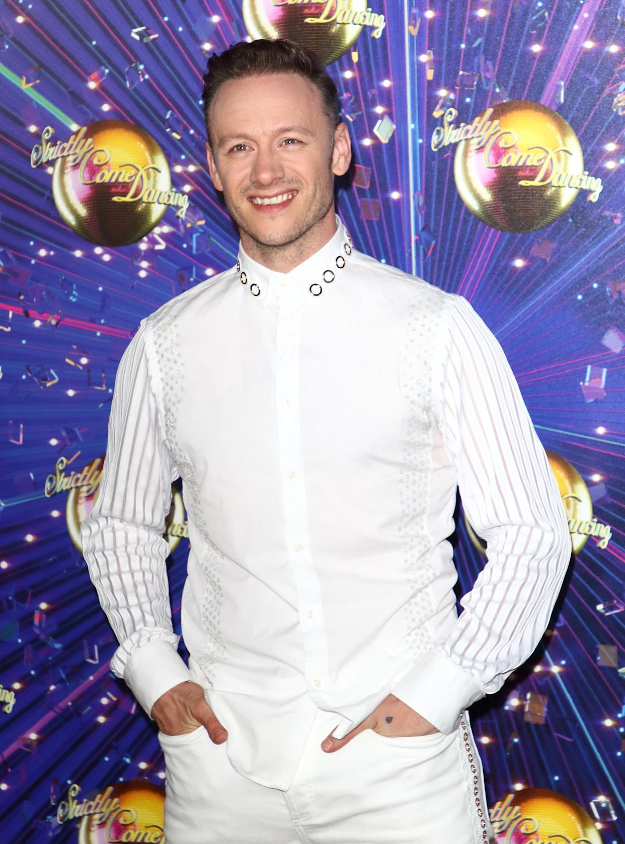 LONDON, UNITED KINGDOM - 2019/08/26: Kevin Clifton at the Strictly Come Dancing Launch at BBC Broadcasting House in London. (Photo by Keith Mayhew/SOPA Images/LightRocket via Getty Images)