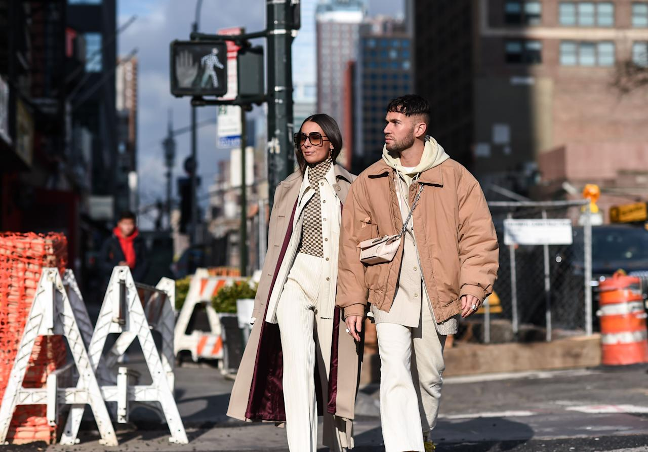 "<p>'Fashion never sleeps' reads the tagline of that straight-to-Netflix movie about fashion made by people who have never worked in fashion. But in this instance, the tropes run true. Fashion, or at least its dedicated weeks in cities around the world, never sleeps: following January's menswear window, it's the women's turn to traverse <a href=""https://www.esquire.com/uk/style/a30428941/london-fashion-week-mens-aw20-best-outfits/"" target=""_blank"">London</a>, <a href=""https://www.esquire.com/uk/style/a30651091/paris-fashion-weeks-men-aw20-best-outfits/"" target=""_blank"">Paris</a>, <a href=""https://www.esquire.com/uk/style/fashion/a30606127/milan-fashion-week-mens-aw20-best-outfits/"" target=""_blank"">Milan</a> and New York - and it was in the latter where the best sort of street style was on display.</p><p>Peppered into the procession of very well-dressed women were lots of very well-dressed men, and it's proof that to some, fashion is indeed something of an insomniac. But it does mean we get 365 years of masterly street style. </p><p>Here are all the best on-road looks from New York Fashion Week.<br></p>"