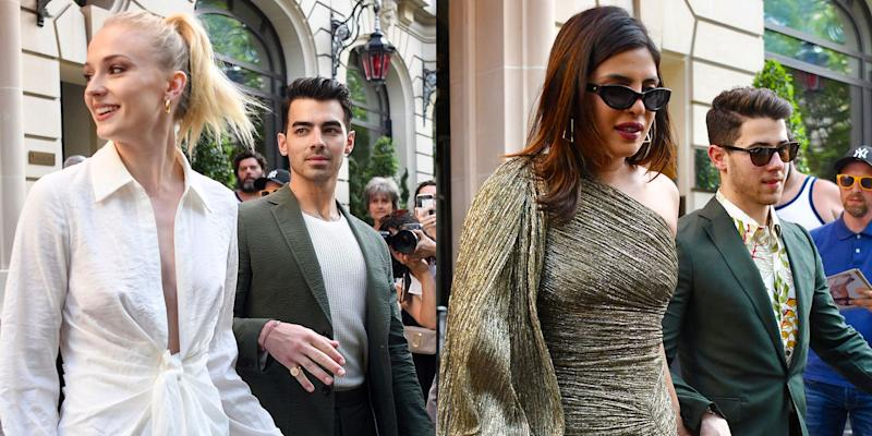 Nick Jonas saves wife Priyanka Chopra from tripping over the yacht