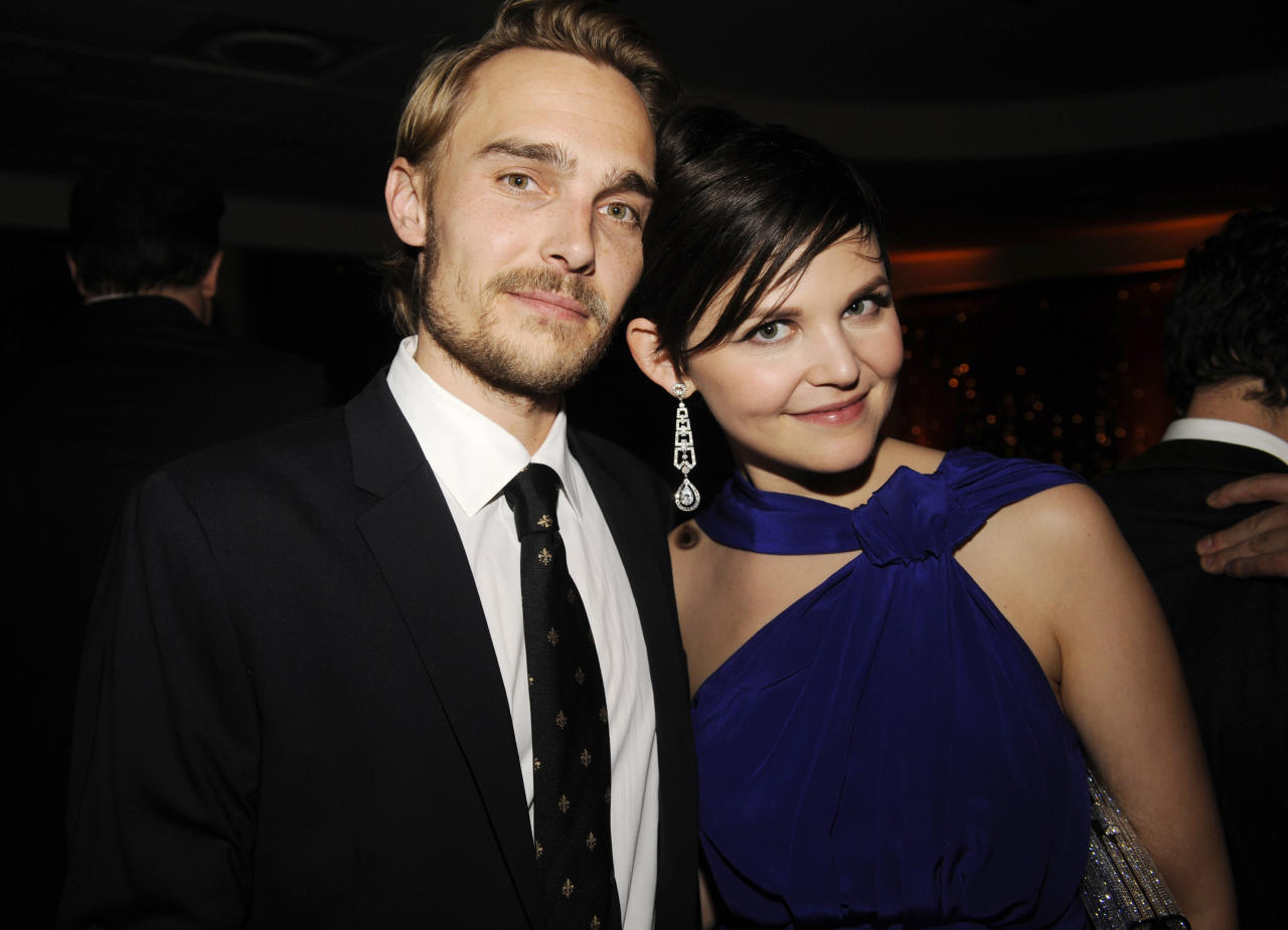Actress Goodwin and actor Kern attend the HBO after party for the 67th annual Golden Globe Awards in Beverly Hills.