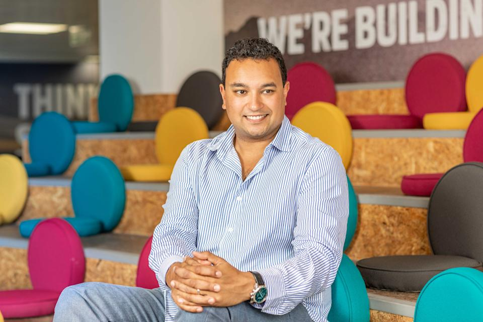 Funding Circle CEO and founder Samir Desai signed the letter to the Treasury. Photo: Funding Circle