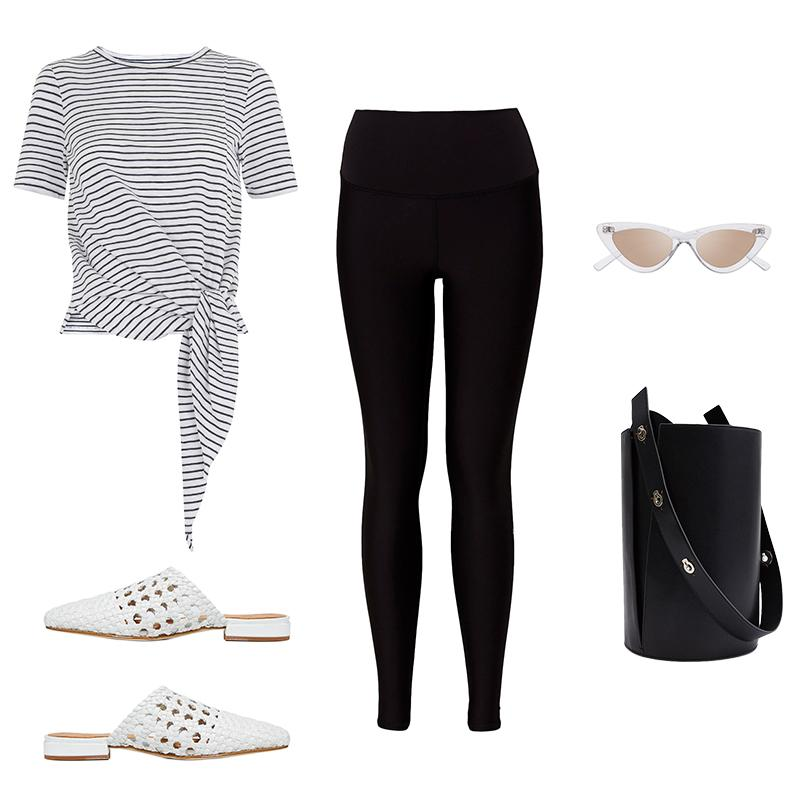 This Is How To Wear Leggings In Summer