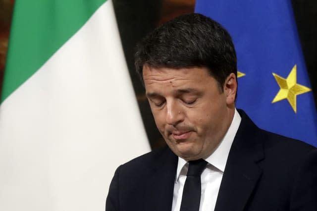 What happens now Italy have voted 'no'