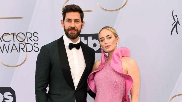PHOTO: John Krasinski and Emily Blunt attend the 25th annual Screen Actors'Guild awards at the Shrine Auditorium, Jan. 27, 2019, in Los Angeles. (Frazer Harrison/Getty Images, FILE)