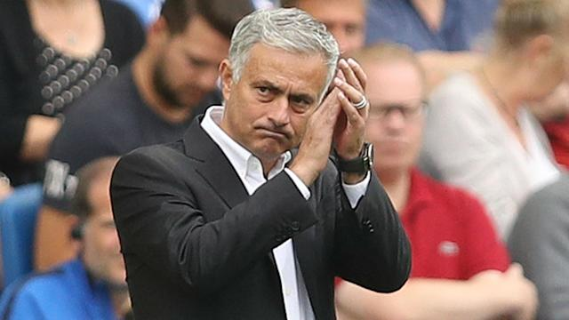 Jose Mourinho has been under scrutiny after Manchester United lost 3-2 to Brighton and Hove Albion in their second Premier League game.