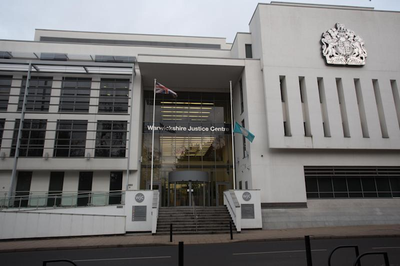 GV of Warwickshire Justice Centre, Leamington Spa. January 26, 2019. A mother has appeared in court charged with murdering her two young daughters who died weeks apart. See SWNS story SWMDmurder. Louise Porton, 22, is accused of killing three-year-old Lexi Draper and 16-month old Scarlett Vaughan. Lexi was found dead at home in the early hours of January 15 last year after reports she was unconscious. A fortnight later on February 1, her little sister Scarlett died after reportedly falling ill at home. Porton, of Skiddaw, Rugby, Warks., appeared at Leamington Spa Magistrates' Court on Saturday (26/1) charged with two counts of murder. Wearing a white cardigan and grey bottoms, Porton spoke only to confirm her name, date-of-birth and address, during the two-minute hearing. She was remanded into custody and will appear via video link for her next appearance at Warwick Crown Court on Tuesday (29/1).