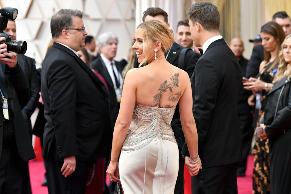 Scarlett Johansson attends the 92nd Annual Academy Awards. (Photo: Amy Sussman via Getty Images)